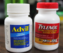 can you take advil after a colonoscopy